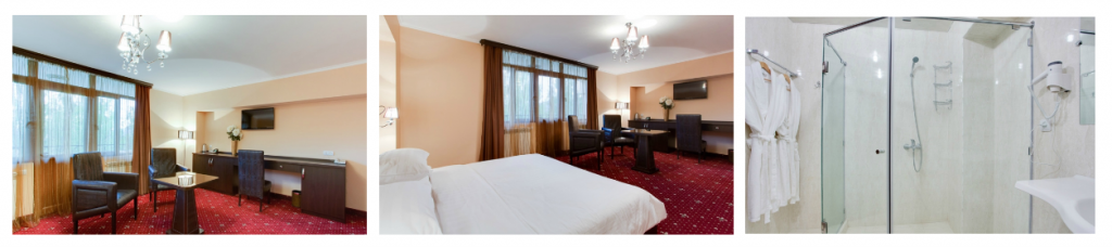 double room crystal resort aghveran